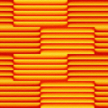 Abstract paneling pattern - seamless background - orange texture