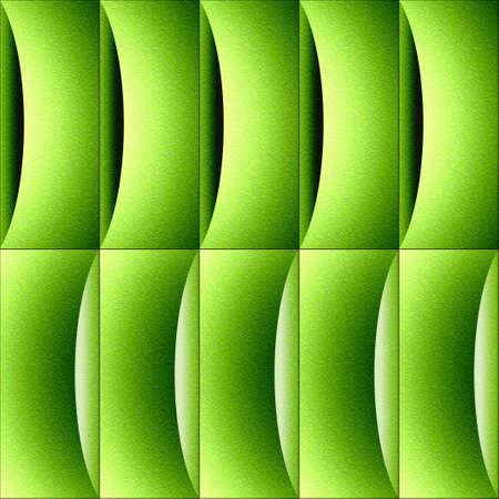 Abstract decorative paneling - waves decoration - lime texture