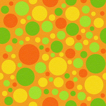 multivitamins: Abstract circular pattern - different colors - seamless background - citrus texture Stock Photo