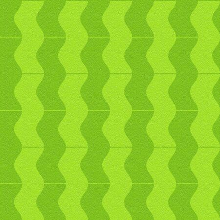 Abstract paneling pattern - waves decor - seamless background - lime texture
