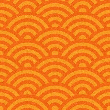 multivitamins: Abstract wavy pattern - seamless background - tangerine texture