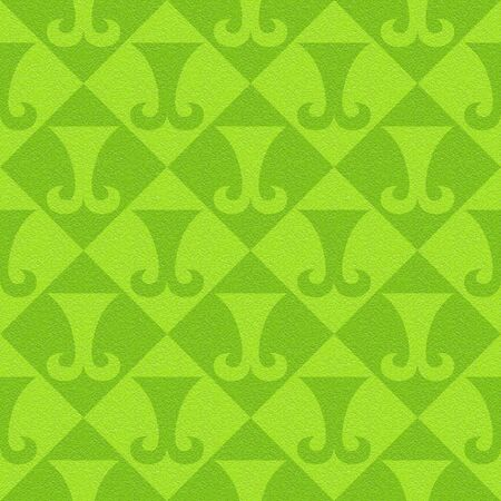 Abstract paneling pattern - seamless background - hipster symbol - lime texture