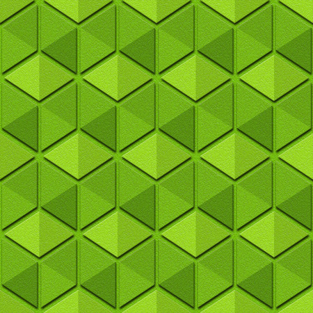 Abstract checkered pattern - seamless background - lime texture Stock Photo
