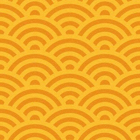 multivitamins: Abstract wavy pattern - seamless background - orange texture Stock Photo