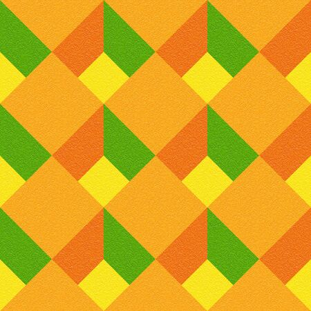 multivitamins: Decorative checkered pattern - seamless background - citrus texture