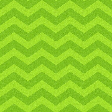 zig zag chevron pattern - seamless background - lime texture Stock Photo