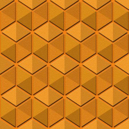 multivitamins: Abstract checkered pattern - seamless background - orange texture