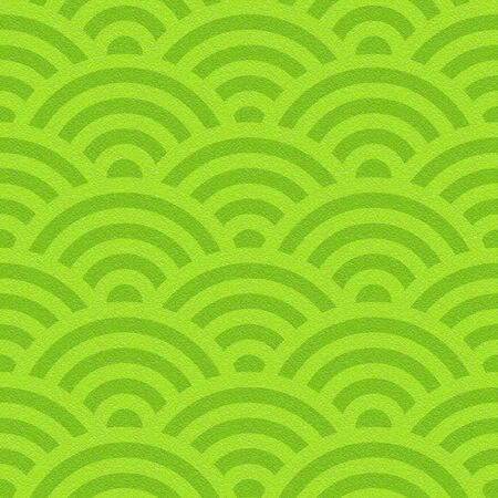 Abstract curved pattern - seamless background - lime texture Stock Photo