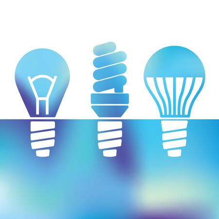 led light bulb: LED bulbs - Light bulbs - fluorescent light bulb