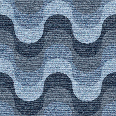 jeans: Abstract paneling pattern