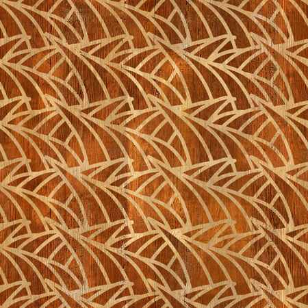 clippings: Abstract thorny designs - seamless background  Stock Photo