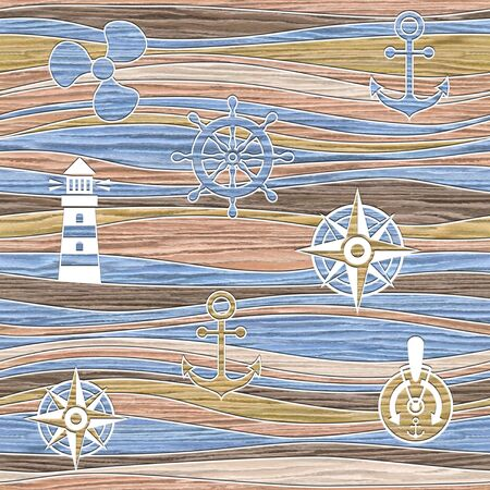 docking: Water decorative patterns