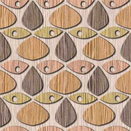 blasted: Abstract decorative texture - seamless background - Blasted Oak Groove wood texture