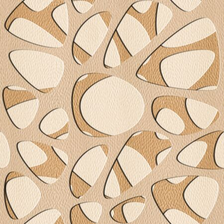 synapse: Abstract pattern synapse - seamless background - White Oak wood texture