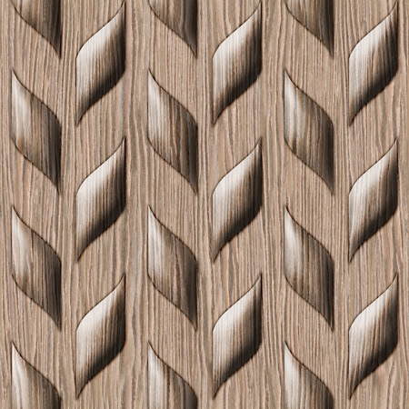 groove: Abstract wooden paneling pattern - seamless background - Blasted Oak Groove wood texture
