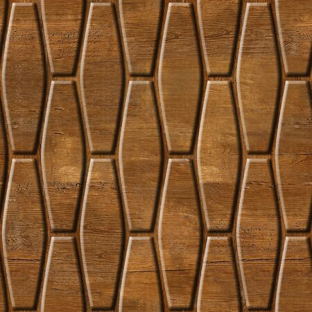 panelling: abstract decorative wall - seamless background - wood paneling