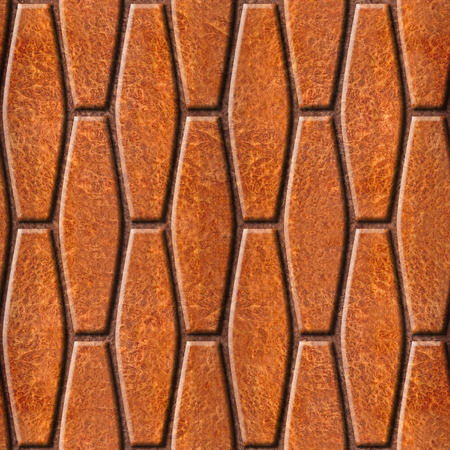 wood paneling: Abstract decorative paneling - seamless background - Carpathian Elm wood texture Stock Photo