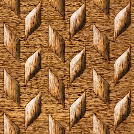 panelling: Abstract paneling pattern - seamless background - wood wall Stock Photo
