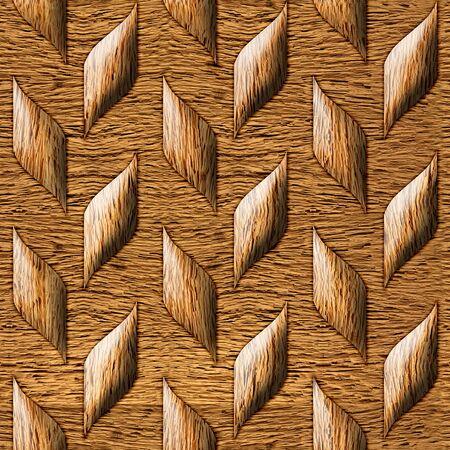 wood paneling: Abstract paneling pattern - seamless background - wood wall Stock Photo