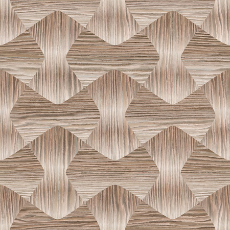 Abstract paneling pattern pattern - seamless background - Blasted Oak Groove wood texture