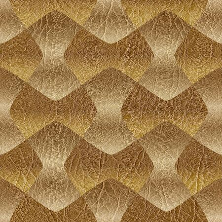 leather texture: Abstract decorative blocks - seamless background - leather texture