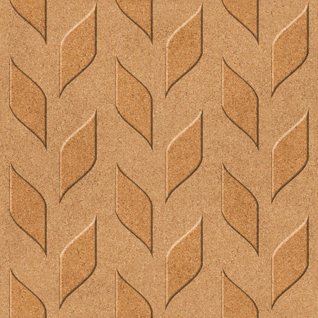 wood paneling: Abstract wood paneling - seamless background - cork texture