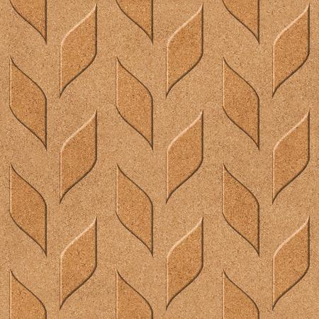 holzvert�felung: Abstract wood paneling - seamless background - cork texture
