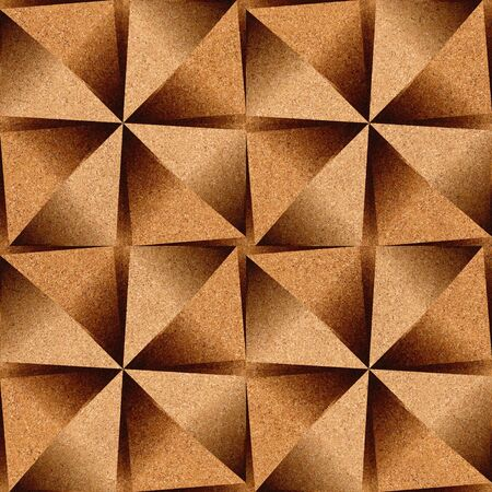 panelling: Abstract decorative texture - seamless background - cork texture