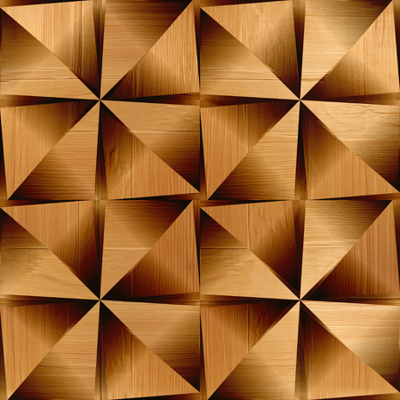 Abstract decorative paneling - seamless background - wood surface