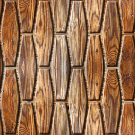Abstract decorative paneling - seamless background - wood wall