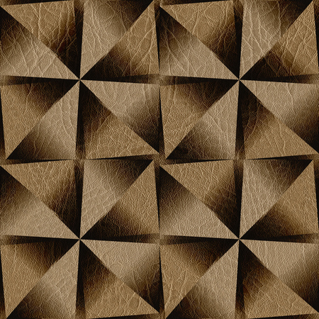 paneling: Abstract paneling pattern - seamless background - leather surface