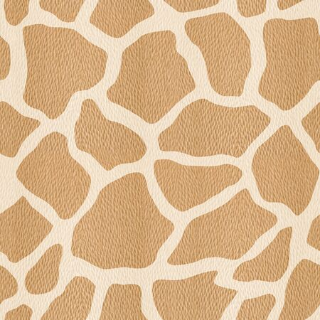 Abstract giraffe pattern - seamless background - White Oak wood texture