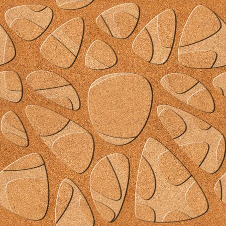 holey: Abstract pattern synapse - seamless background - cork texture