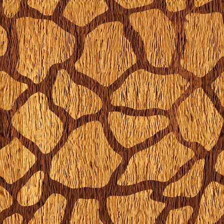 wood surface: Decorative camouflage pattern - seamless background - wood surface