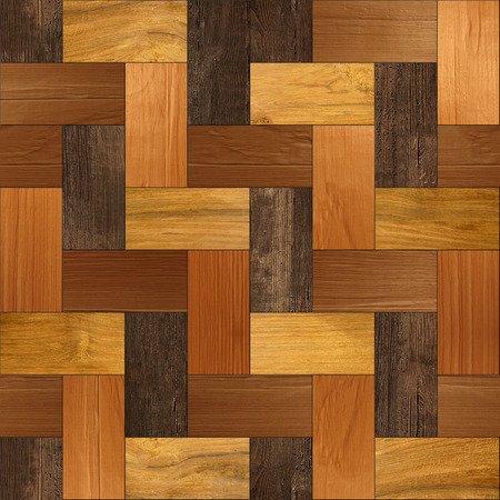 panelling: Wooden parquet - seamless background - Wood paneling