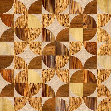 wood paneling: Abstract paneling pattern - seamless pattern - wood texture
