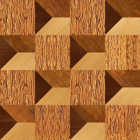 wood surface: Abstract paneling pattern - seamless background - Wood surface Stock Photo
