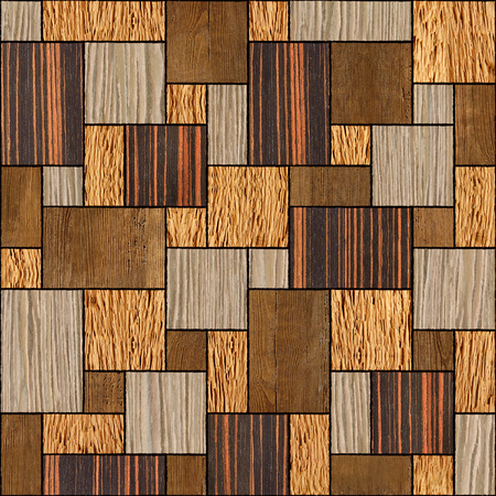 wood surface: Abstract wooden paneling pattern - seamless background - wood surface Stock Photo