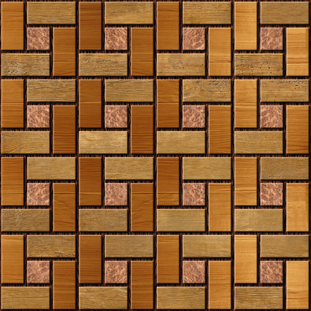holzvert�felung: Abstract paneling pattern - seamless background - wood paneling