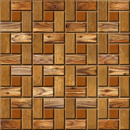 parquet flooring: Abstract paneling pattern - seamless pattern - parquet flooring