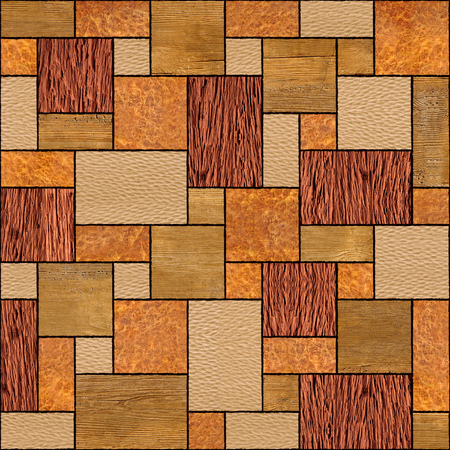 veneer: Abstract wooden paneling pattern - seamless background - wood texture