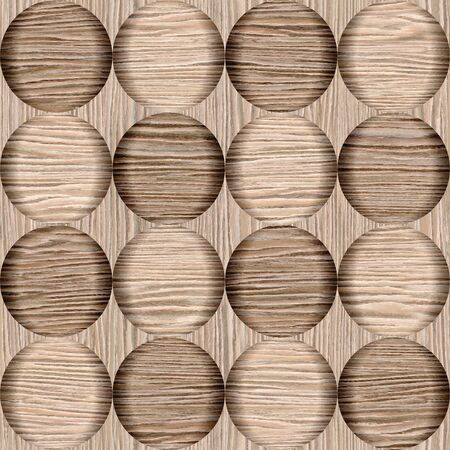 groove: Abstract bubble pattern - different colors - Blasted Oak Groove wood texture - seamless background