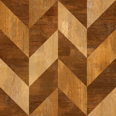 messy room: Abstract wooden paneling pattern - seamless background - wood texture