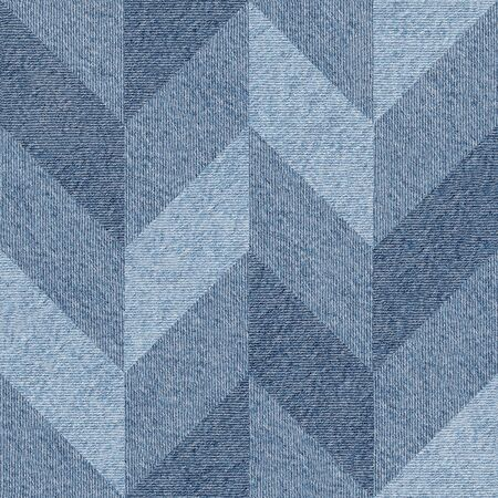 torn jeans: Abstract decorative texture - seamless pattern - blue jeans textile Stock Photo