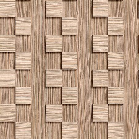 groove: Decorative wooden pattern - seamless background - Blasted Oak Groove wood texture Stock Photo