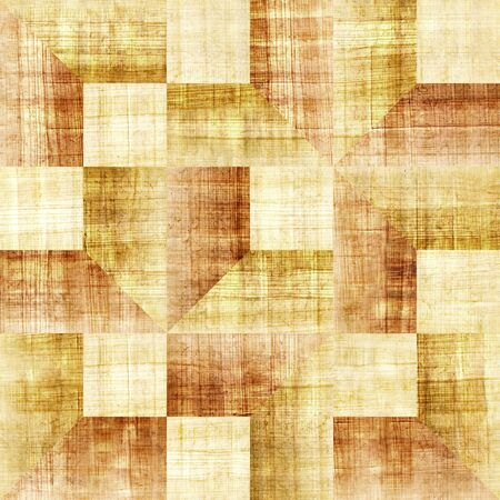 scratchy: Decorative paneling pattern - seamless background - papyrus surface