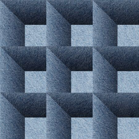 denim jeans: Decorative paneling pattern - seamless background -  Blue denim jeans