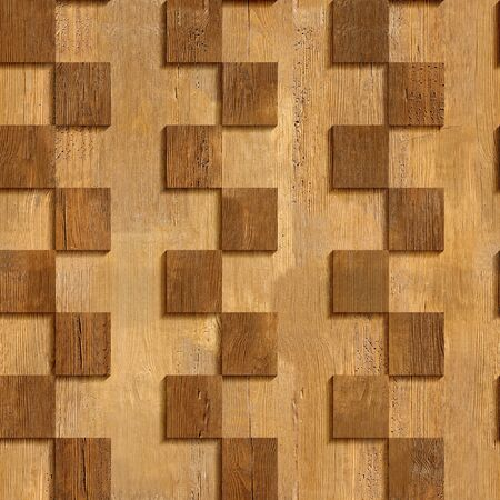 Abstract paneling pattern - seamless background - wood wall - zigzag style