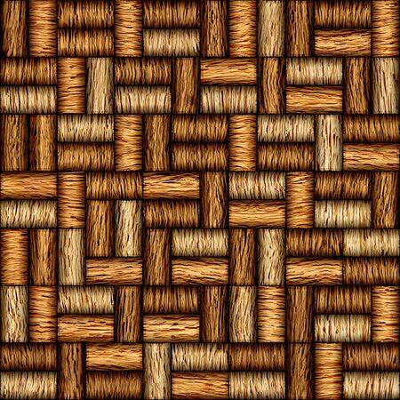panelling: Decorative pattern of wine bottles corks - seamless background - Interior Design wallpaper - wall panel pattern - walnut wood texture Stock Photo