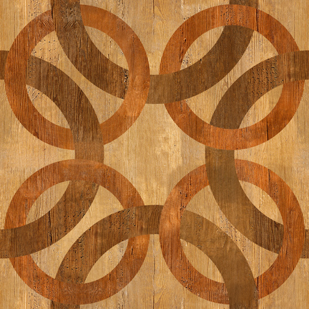 blended: Decorative blended circles - seamless background - Interior Design pattern - Abstract decorative panels - wood texture